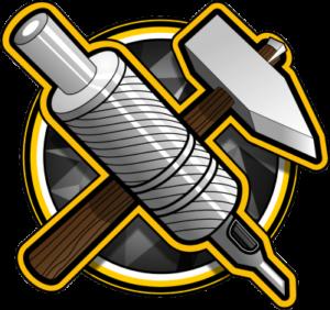 czarne złoto tattoo logo