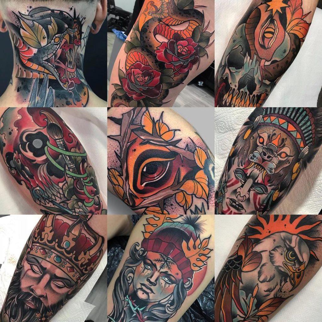 tatuaż realistyczny_deep_red_czarnezlototattoo